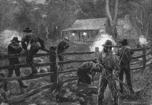 Ned Kelly- Fight at Glenrowan
