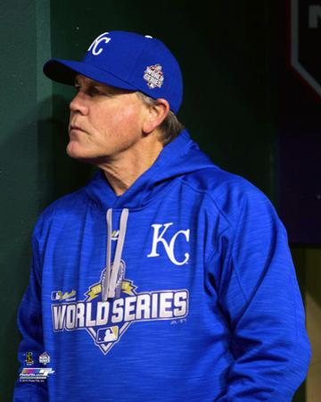 Ned Yost Game 2 of the 2015 World Series