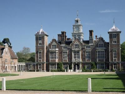 Blickling Hall, National Trust Property Dating from the Early 17th Century, Blickling, England