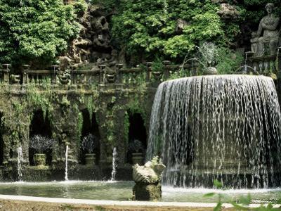 Fountain of the Oval (Ovato), Overlooked by Tiburtine Sibyl, Tivoli, Lazio, Italy