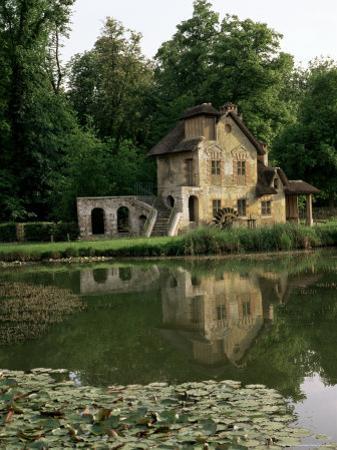 Make-Believe Mill in Marie Antoinette's Hameau, Petit Trianon, Versailles, Ile De France