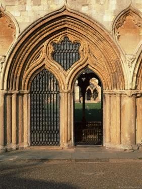 Norwich Cathedral Cloisters, Dating from 13th to 15th Centuries, Norwich, Norfolk, England by Nedra Westwater
