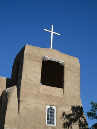 San Miguel Chapel Detail, Mission Church Built by Thalcala Indians, Rebuilt 1710, Santa Fe