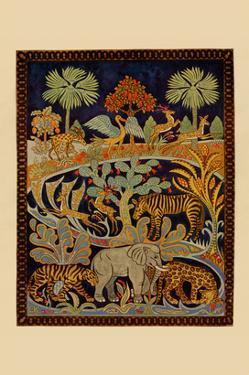 Animal Tapestry by Needlecraft Magazine