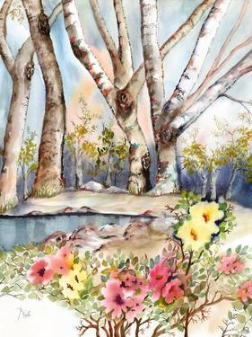 Wild Rose Pond by Neela Pushparaj