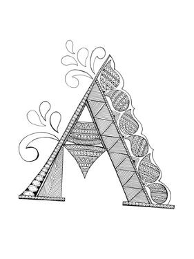 Alphabet - A by Neeti Goswami