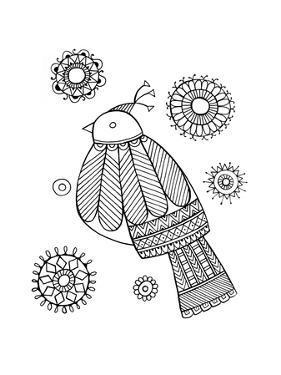 Bird Dove1 by Neeti Goswami