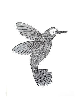 Bird Hummingbird by Neeti Goswami