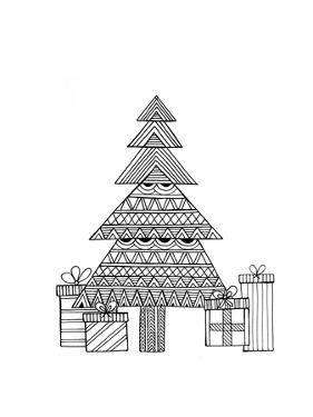 Christmas Tree by Neeti Goswami