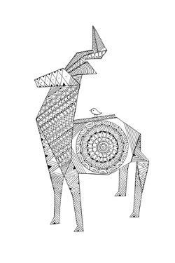 Origami 10 by Neeti Goswami