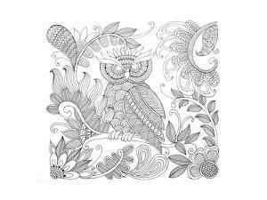 Owl 5 by Neeti Goswami