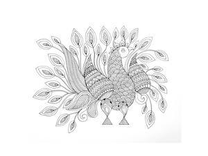 Peacock 7 by Neeti Goswami