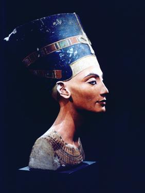 Nefertiti, Egyptian Queen and Consort of Akhenaten, 14th Century Bc