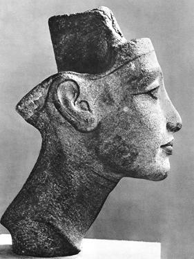 Nefertiti, Queen and Wife of the Pharaoh Akhenaten, Ancient Egyptian, 14th Century BC