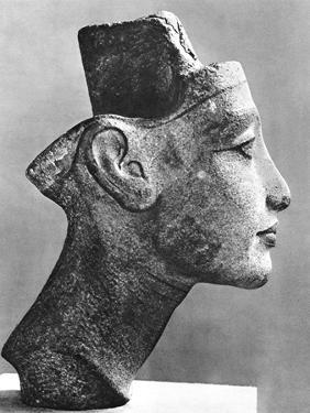 Nefertiti, Queen and Wife of the Pharaoh Akhenaten, Ancient Egyptian, 14th Century BC