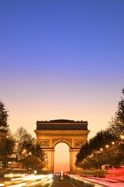 Arc De Triomphe at Dawn, Paris, France, Europe by Neil