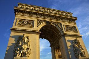 Arc De Triomphe, Paris, France, Europe by Neil