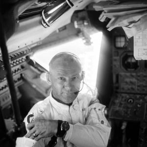 Edwin 'Buzz' Aldrin (1930-) by Neil Armstrong