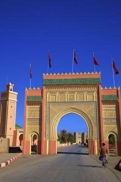 City Gate, Rissani, Morocco, North Africa, Africa by Neil