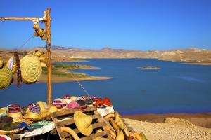 Douar Nzala Lake, Morocco, North Africa, Africa by Neil