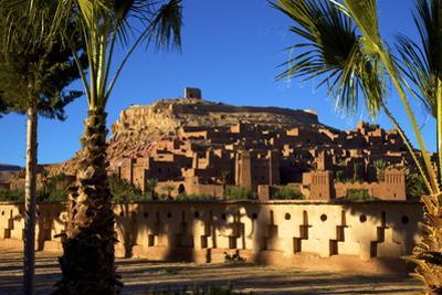 Ait-Benhaddou Kasbah, Morocco, North Africa by Neil Farrin