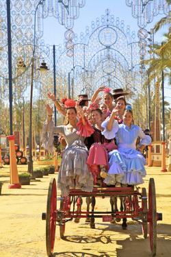 Annual Horse Fair, Jerez De La Frontera, Cadiz Province, Andalusia, Spain by Neil Farrin