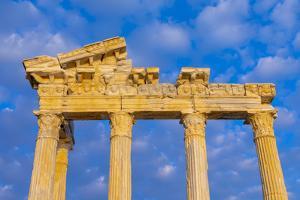 Apollo Temple, Side, Antalya Province, Turkey Minor, Eurasia by Neil Farrin