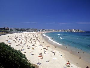 Bondi Beach, Sydney, Nsw, Australia by Neil Farrin