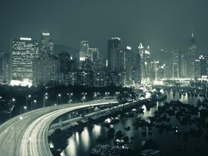 Causeway Bay, Hong Kong, China by Neil Farrin