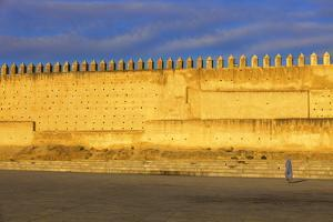 City Wall, Fez, Morocco, North Africa, Africa by Neil Farrin