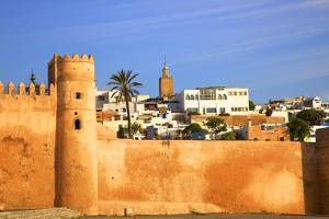 City Walls, Oudaia Kasbah, Rabat, Morocco, North Africa by Neil Farrin