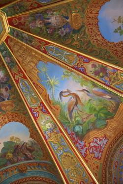 Decorative Ceilings in Bathing Pavilion by Neil Farrin
