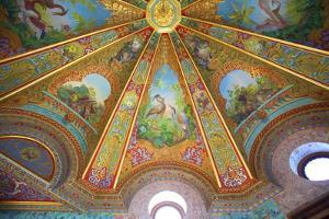 Decorative Ceilings in Bathing Pavilion by Neil Farrin