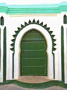 Doorway That Inspired Matisse, Tangier, Morocco, North Africa by Neil Farrin