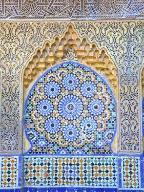 Fountain at Bab El Assa, Tangier, Morocco, North Africa by Neil Farrin