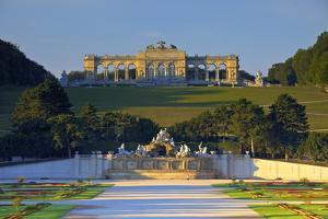 Gloriette and French Garden by Neil Farrin