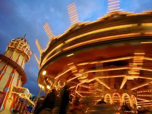 Goose Fair, Nottingham, England, UK by Neil Farrin