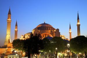 Hagia Sophia (Aya Sofya Mosque) (The Church of Holy Wisdom) by Neil Farrin