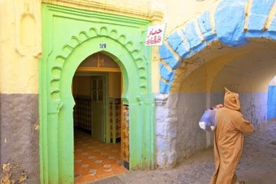 Hammam in Kasbah, Tangier, Morocco, North Africa, Africa by Neil Farrin