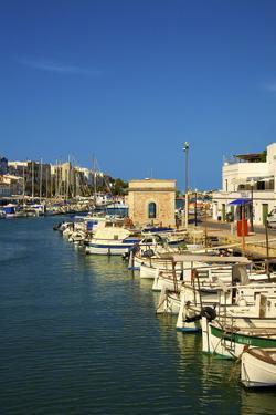 Harbour, Ciutadella, Menorca, Balearic Islands, Spain, Mediterranean, Europe by Neil Farrin