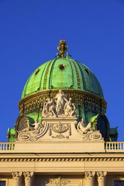 Hofburg Palace Exterior, UNESCO World Heritage Site, Vienna, Austria, Europe by Neil Farrin