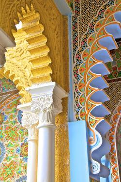 Interior Details of Continental Hotel, Tangier, Morocco, North Africa by Neil Farrin