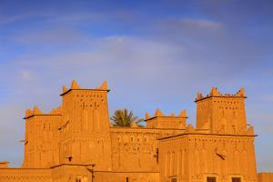 Kasbah Amerhidil, Skoura, Quarzazate Region, Morocco, North Africa by Neil Farrin