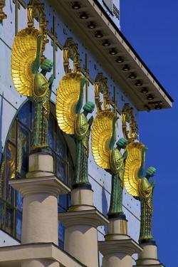 Kirche Am Steinhof, Church of St. Leopold, Vienna, Austria by Neil Farrin