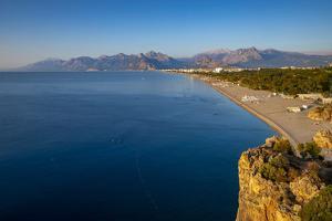 Konyaalti Beach, Antalya, Turkey Minor, Eurasia by Neil Farrin