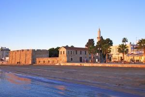 Larnaka Fort, Medieval Museum and Mosque, Larnaka, Cyprus, Eastern Mediterranean Sea, Europe by Neil Farrin