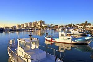 Larnaka Harbour, Larnaka, Cyprus, Eastern Mediterranean Sea, Europe by Neil Farrin