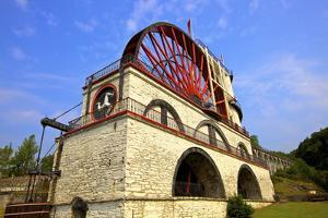 Laxey Wheel, Laxey, Isle of Man, Europe by Neil Farrin