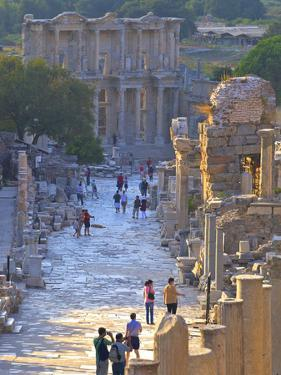 Library of Celsus, Ephesus, Turkey by Neil Farrin