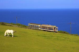 Manx Electric Railway, Isle of Man, Europe by Neil Farrin